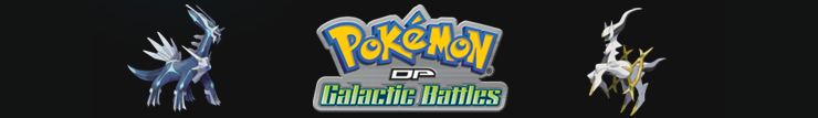 Pokemon Season 12 Pokemon Diamond and Pearl Galactic Battles